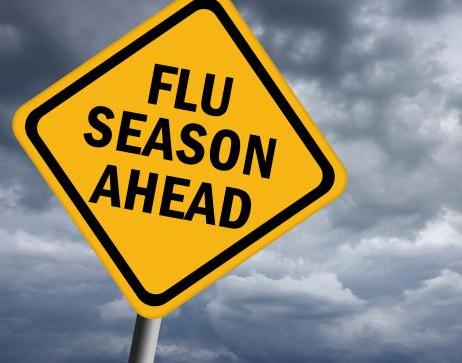 Flu Season Sign